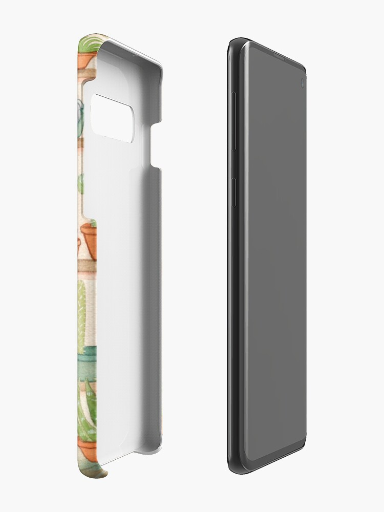 Alternate view of Cats and Cacti Case & Skin for Samsung Galaxy