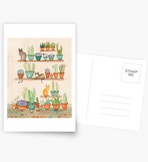 Cats and Cacti Postcards