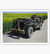Willys MB Jeep Sticker