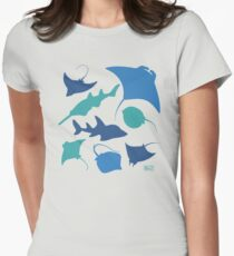 Rays! Women's Fitted T-Shirt