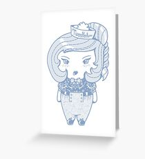tweedledum Greeting Card
