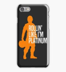 Luke Skywalker - Rollin' Like I'm Platinum iPhone Case/Skin