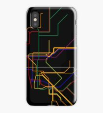 NYC Subway Lines iPhone Case