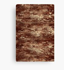 Brown wood bark texture Canvas Print