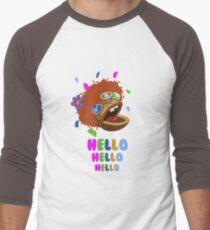 hello tron Men's Baseball ¾ T-Shirt