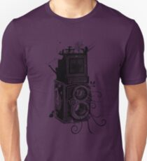 Retro Rolleiflex - Evolution of Photography - Vintage T-Shirt