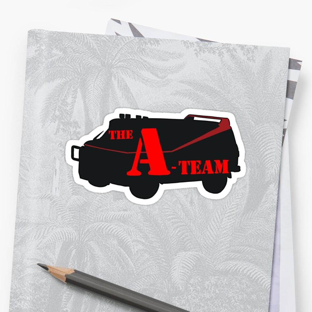 Das A-Team! Sticker