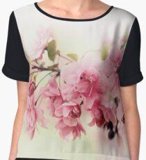 Faded Blossom Chiffon Top