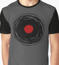 Spinning within with a vinyl record... Graphic T-Shirt