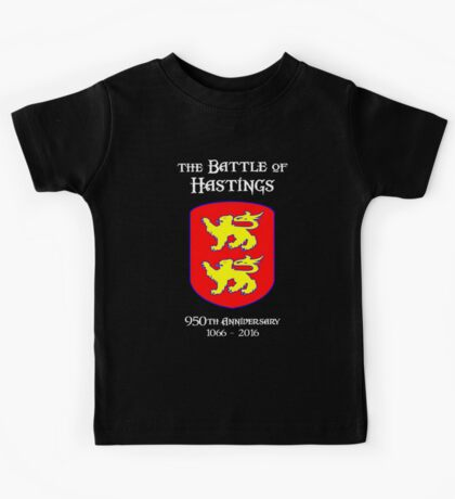 Battle of Hastings 950th Anniversary 1066 - 2016 Kids Clothes