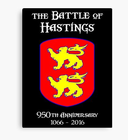 Battle of Hastings 950th Anniversary 1066 - 2016 Canvas Print