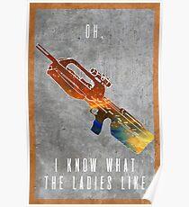 Ladies? Poster