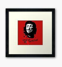 Viva La Revolucion Framed Print