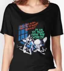 Pinky and Brain Take over The world Women's Relaxed Fit T-Shirt