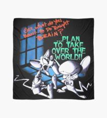 Pinky and Brain Take over The world Scarf