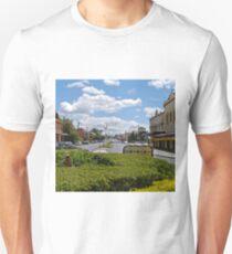Street scene, Bathurst, New South Wales, Australia T-Shirt