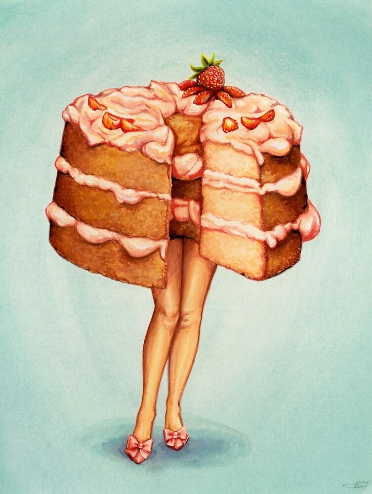 Hot Cakes III - Angel Food by Kelly  Gilleran