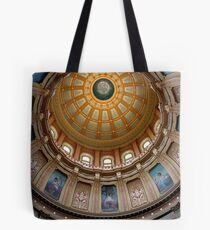 Capitol Dome (Lansing, Michigan) Tote Bag