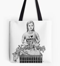 Blind to the Hypocrisy Tote Bag