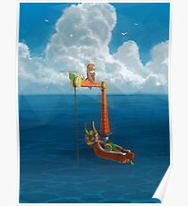 Wind Waker-Lone Ocean Remastered! Poster