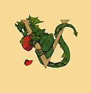 """Oscar and the Roses """"V"""" (Illustrated Alphabet) by Donna Huntriss"""