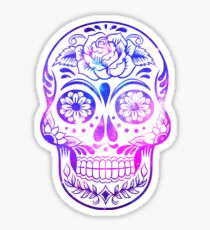 Space Skull Sticker