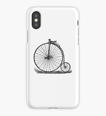 Penny Farthing iPhone Case