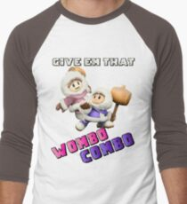 Wombo Combo Ice Climber Smash Bros Men's Baseball ¾ T-Shirt