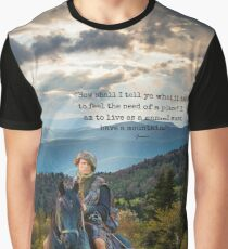 Outlander/Jamie Fraser/Quote from Diana Gabaldon Graphic T-Shirt
