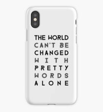 Pretty Words iPhone Case