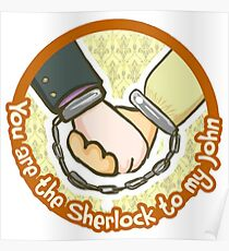 you are my Sherlock Poster
