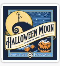Halloween Moon Sticker