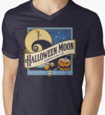 Halloween Moon Men's V-Neck T-Shirt