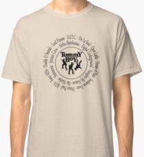 Tommy Boy records Hip Hop artists [bk2] Classic T-Shirt