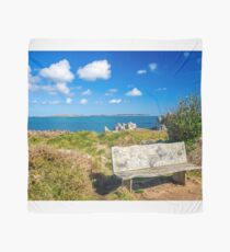 Bench on St Agnes   Scarf