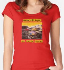 Neutral Milk Hotel - On Avery Island Women's Fitted Scoop T-Shirt