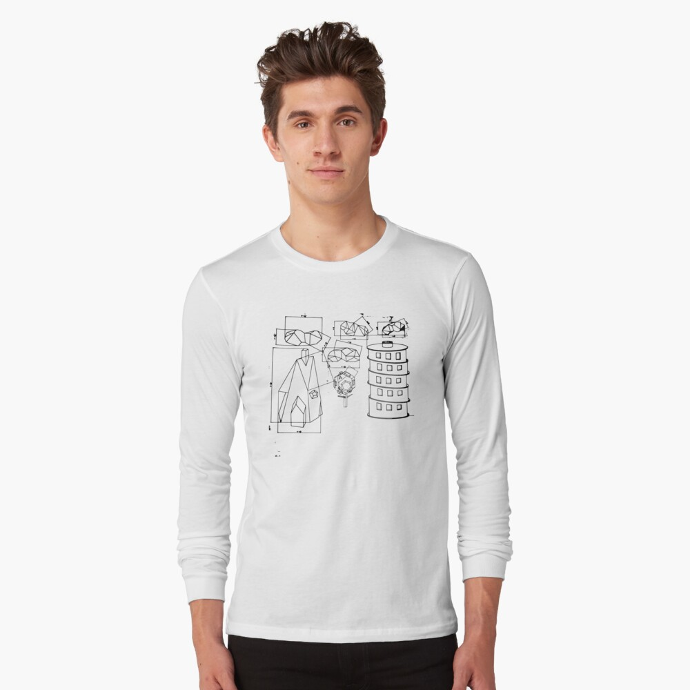Modest Mouse - Building Nothing Out of Something  Long Sleeve T-Shirt Front