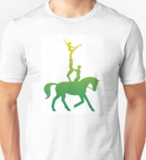Green and Gold Vaulting Team Unisex T-Shirt
