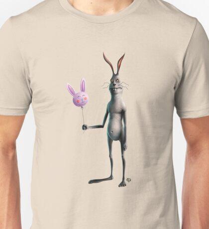 Rabbit & Balloon Unisex T-Shirt