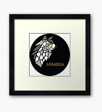Direwolf - Nymeria Framed Print