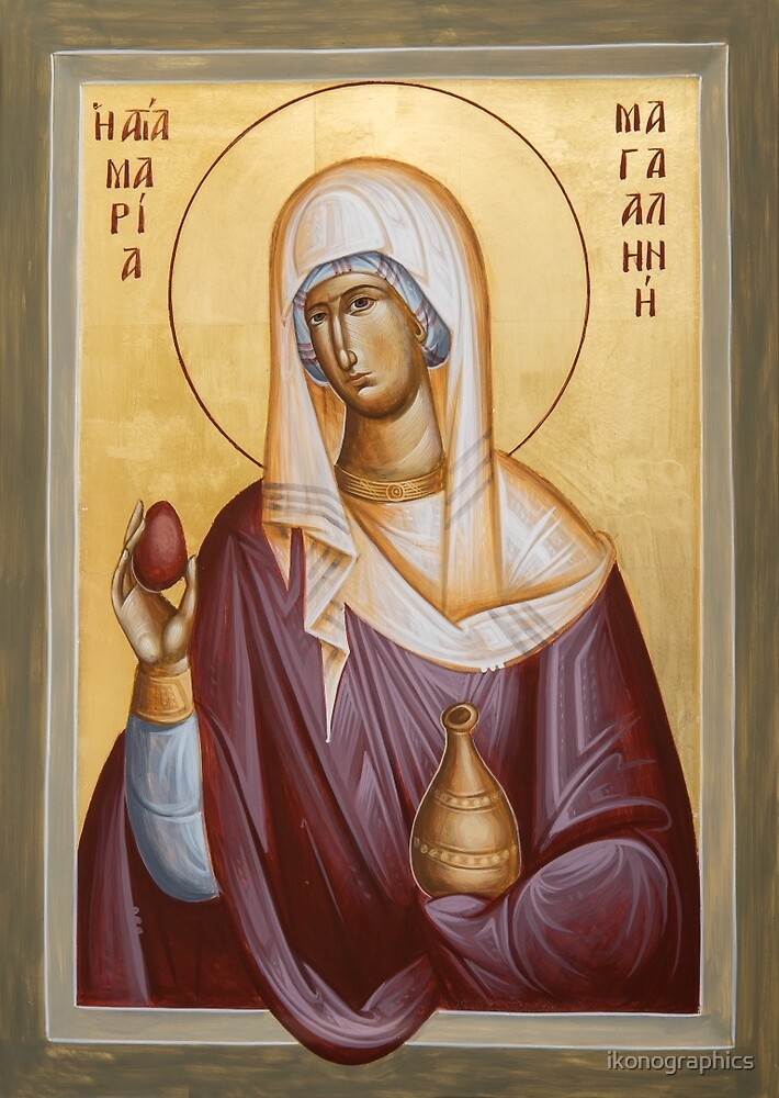 St Mary Magdalene by ikonographics
