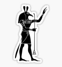 Egyptian God Seth Sticker