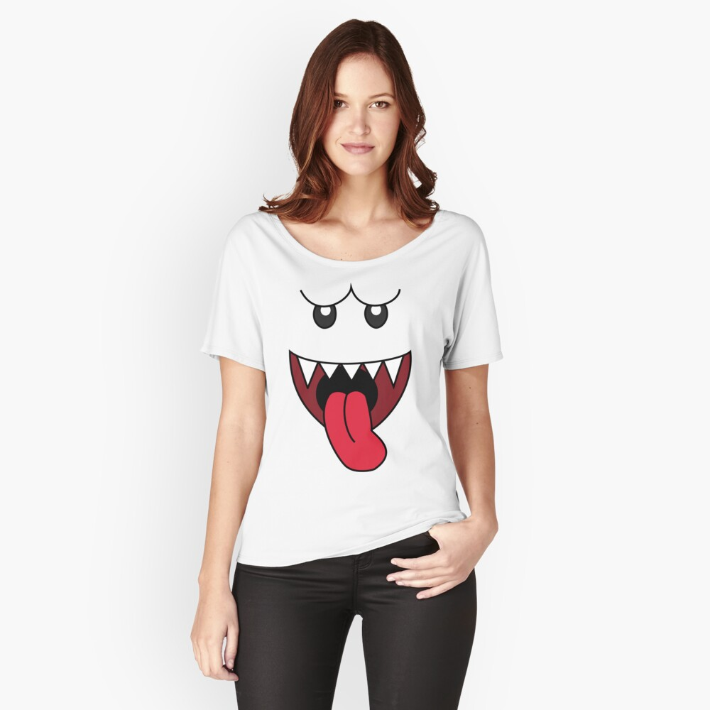 boo Relaxed Fit T-Shirt