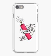 One Dynamite Gal iPhone Case/Skin