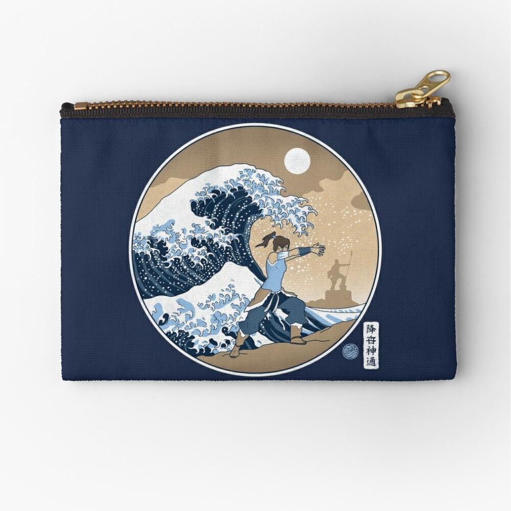 Avatar Waterbender Große Welle Täschchen