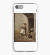 Turkish Sentinel  Charles Bargue iPhone Case/Skin