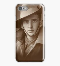 Unidentified soldier of the First AIF   and  by Australian War Memorial,  iPhone Case/Skin