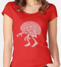 Braindead. Women's Fitted Scoop T-Shirt