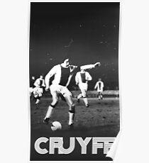 Vintage Cruyff Poster