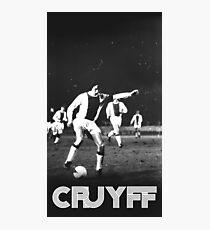 Vintage Cruyff Photographic Print